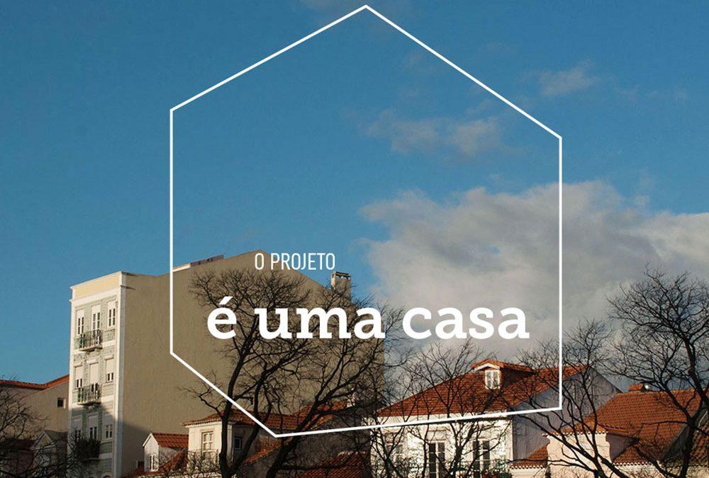 É Uma Casa, Lisboa Housing First
