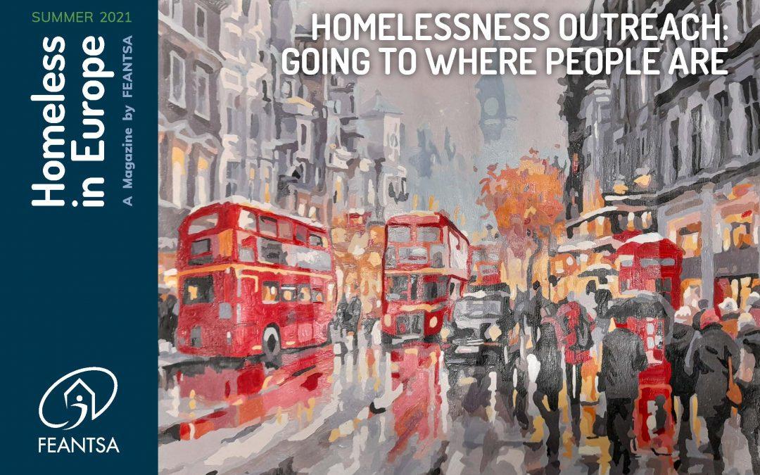 Artigo da CRESCER na Revista Homeless in Europe da FEANTSA