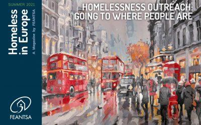 "CRESCER's article in FEANTSA's ""Homeless in Europe"" magazine"
